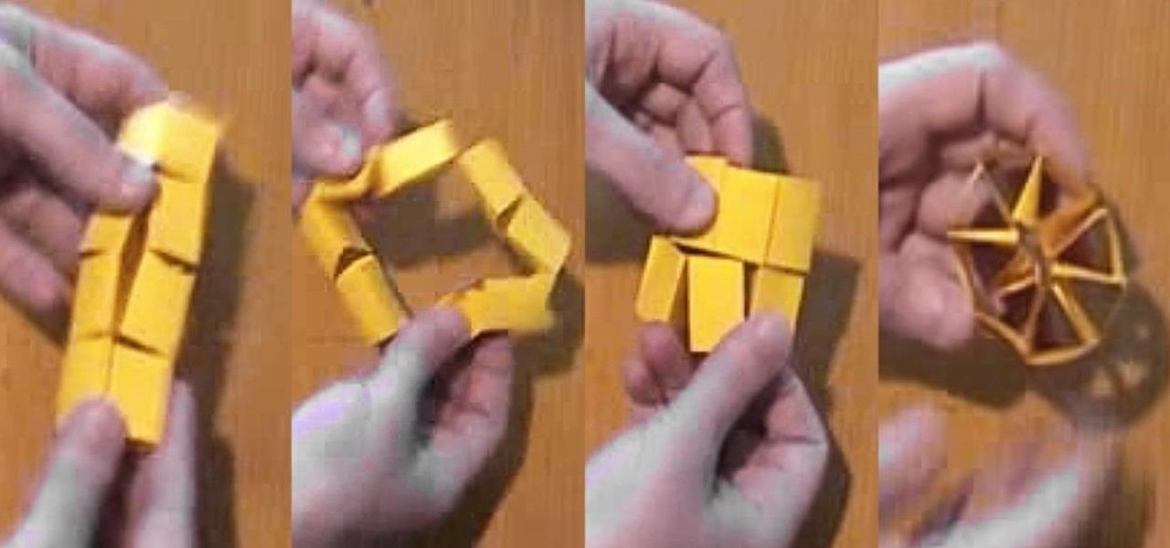 how to make a crazy shapeshifter toy out of a sheet of