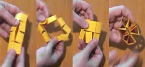 Make a Crazy Shapeshifter Toy Out of a Sheet of Paper