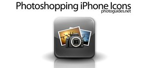 Create iPhone app icons in Photoshop