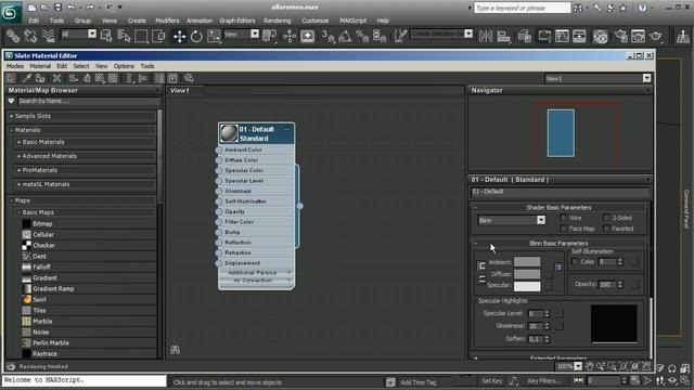 Use the Composite (Toxik) feature in 3ds Max 2011
