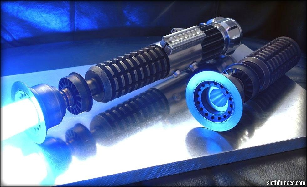 Quite Possibly the Best Lightsaber Replica Ever (This Is Not a Jedi Mind Trick)