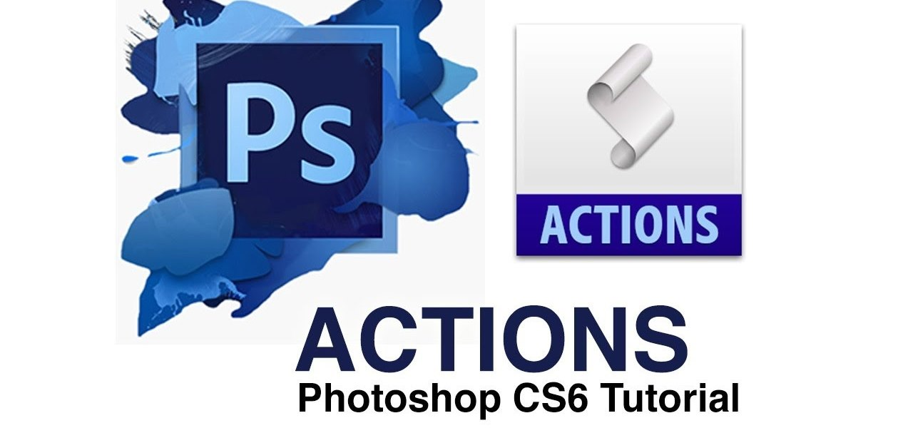 Use Photoshop Actions