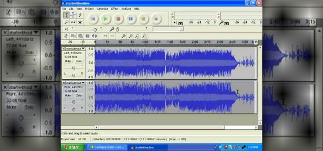 Remove the Vocals from a WAV or MP3 in Audacity