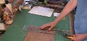 Use a rotary cutter for right handed quilting