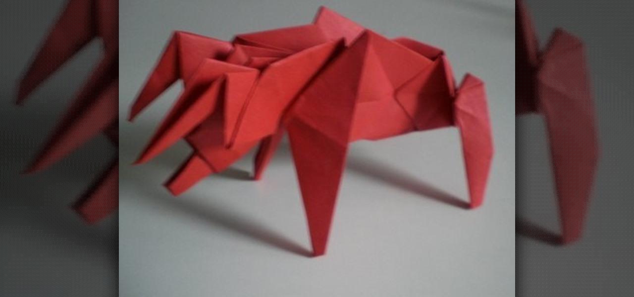 How To Make A Menacing Origami Bull For Advanced Origami Folders