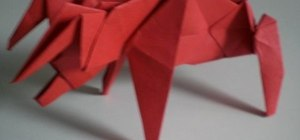 Make a menacing origami bull for advanced origami folders