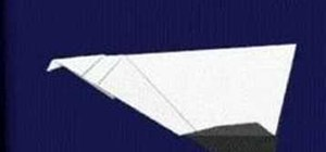 "Origami a paper airplane ""FF2"""