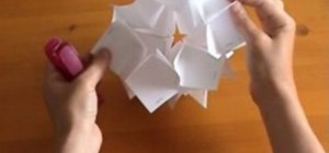 Make a 3D mathematical kusudama