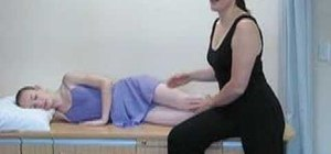 Perform a clams and piriformis stretch for ballet