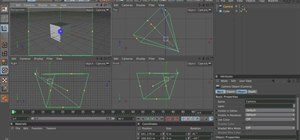Use camera navigation when working in MAXON Cinema 4D