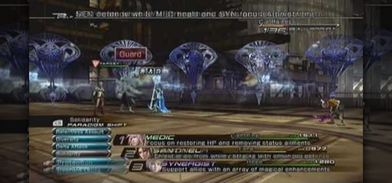How to Fight the Shiva Sisters in Final Fantasy XIII « Xbox