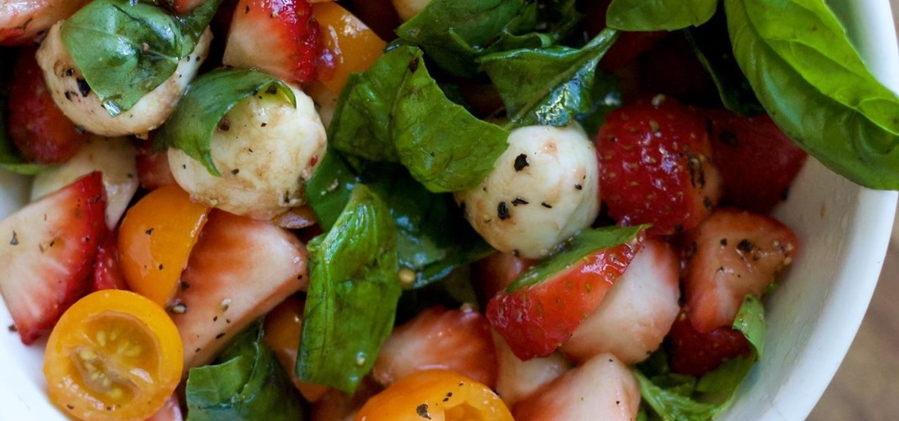 To Boost Your Caprese Salad, Just Add Fruit