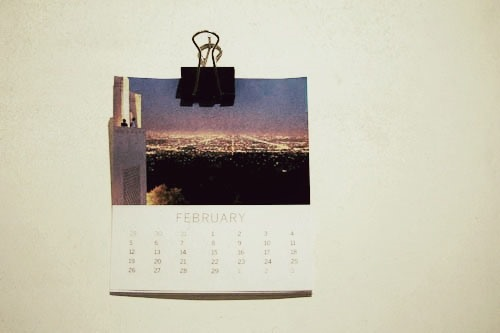 How to Make a DIY Photo Calendar for 2012