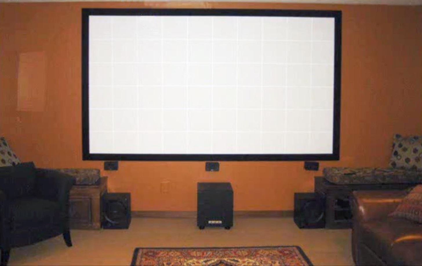 How to Build Your Own Projector Screen at Home for Less Than Fifty Bucks