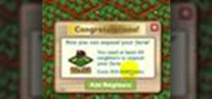 Expand your farm in FarmVille
