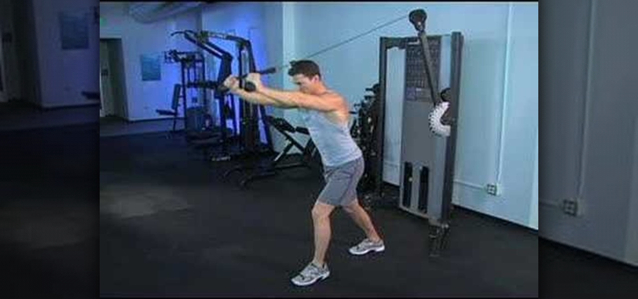 How To Do Cable Rope Overhead Skull Crushers For Your Arms