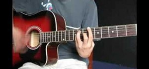 """Play """"Pieces"""" by Sum 41 on guitar"""