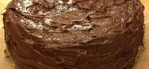 Bake a Homemade Chocolate Cake