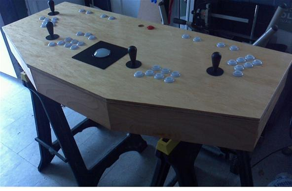 how to build an arcade machine from scratch