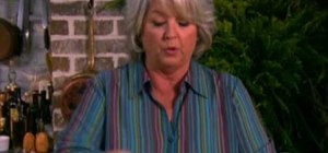 Make a quick chicken pot pie with Paula Deen