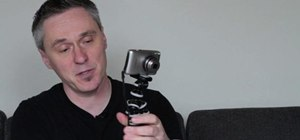 Stabalize your point and shoot HD camera using a Joby Gorillapod SLR tripod