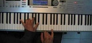 "Play ""Beauty"" by Dru Hill on the piano"
