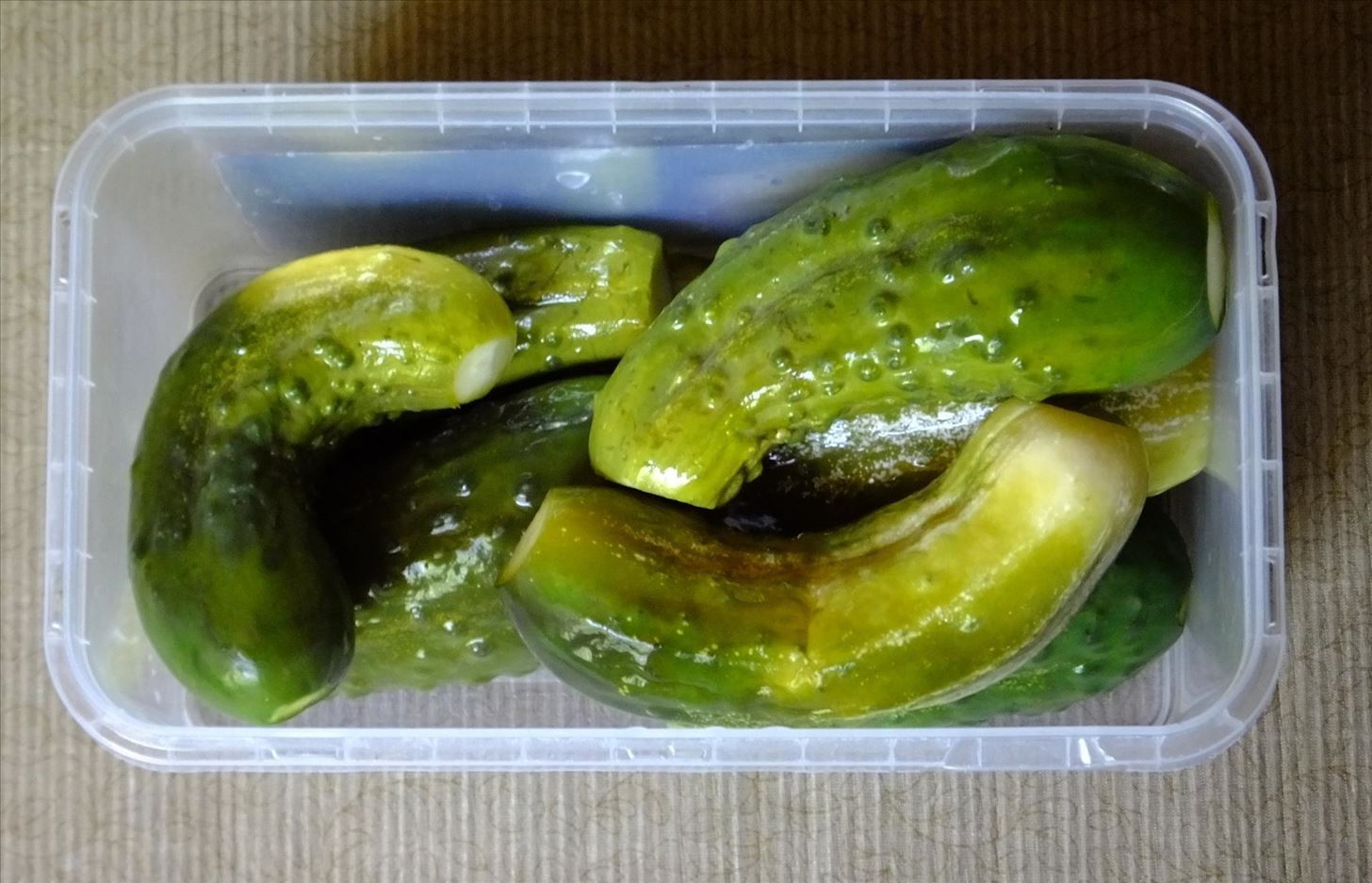 How to Mild-Cured Cucumbers