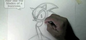 Draw Sonic the Hedgehog
