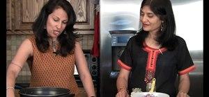 Make Rajasthani vegetarian papad ki subzi