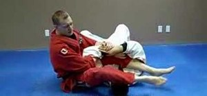 Do a Jiu Jitsu triangle choke from a side arm bar