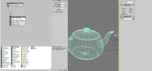 Model particle dispersion in 3D Studio MAX