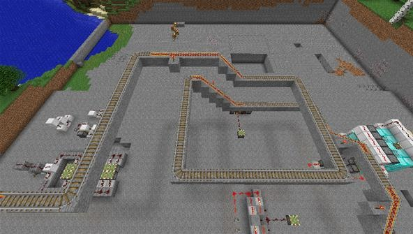Give Someone the Minecart Ride of Their Life in This Saturday's Minecraft Workshop
