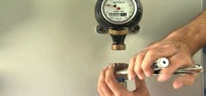 Install an airless water valve