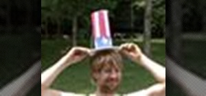 Make a DIY Uncle Sam hat for the 4th of July