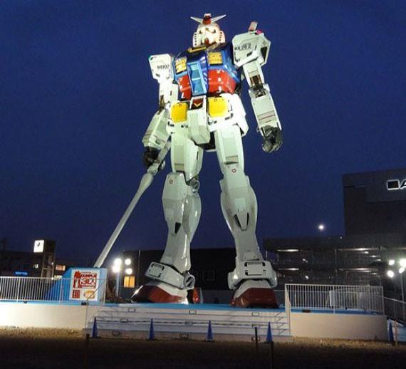 Gundam lives in Shizuoka City!