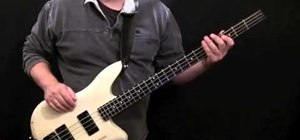 "Play ""Le Freak"" by Chic on the bass"