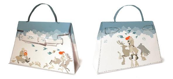 How to Print, Cut & Fold Your Own DIY Hermès Handbag