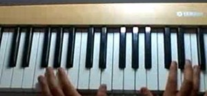 "Play ""Chasing Cars"" by Snow Patrol on piano"