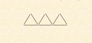 Change 3 triangles into 4 triangles