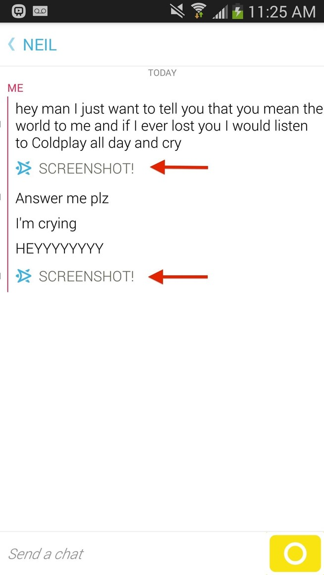 how to find chat on snapchat