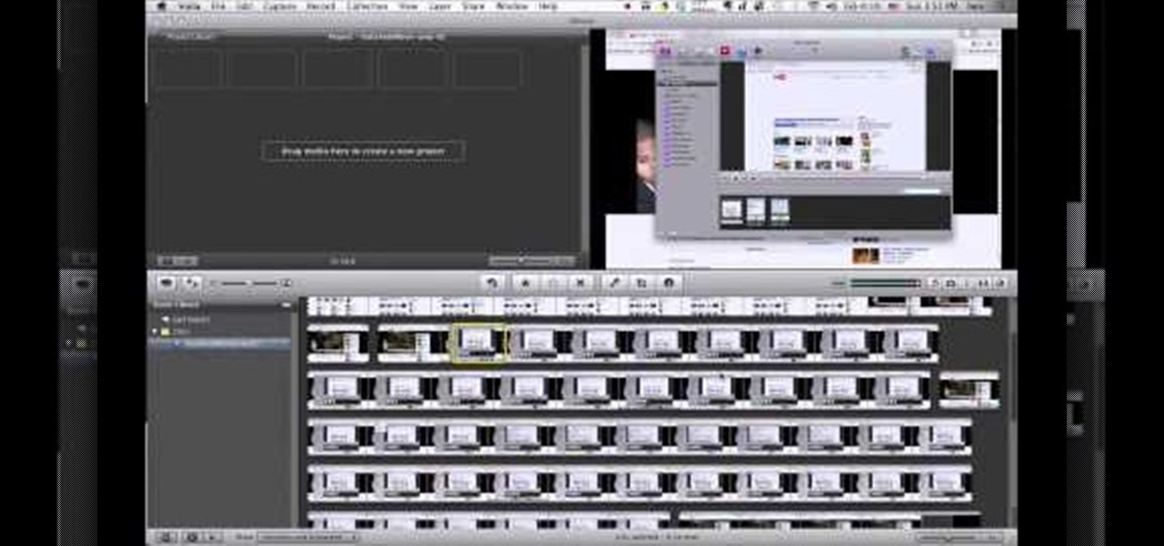 How to Make Screencast videos with Voila and iMovie in Mac