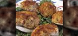 Make stuffed quahogs (stuffed clams)