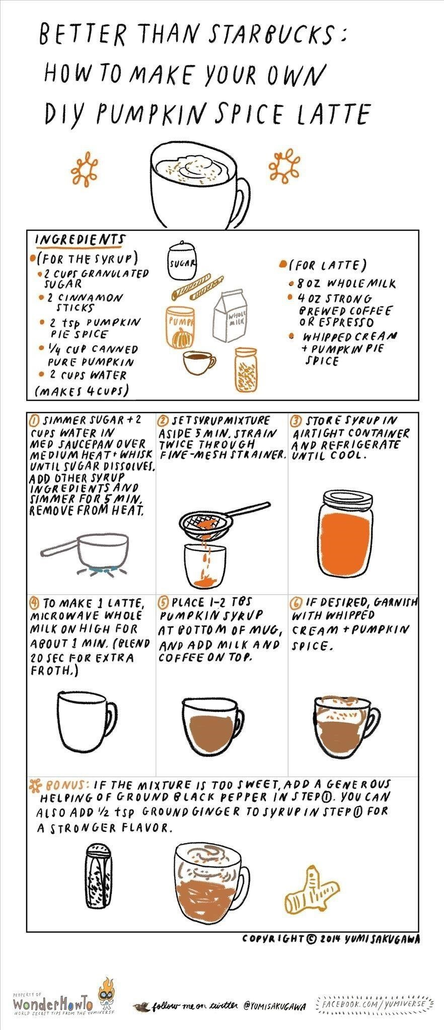 Better Than Starbucks: How to Make Your Own Pumpkin Spice Latte at Home
