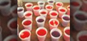 Make Jello shots to liven up your party