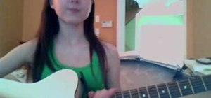 "Play ""Airplanes pt II"" by B.o.B on acoustic guitar"