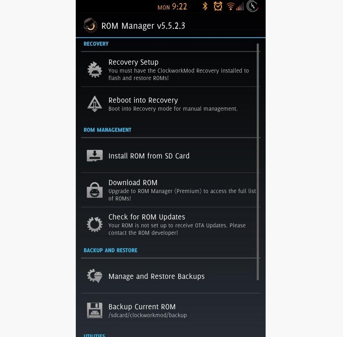 how to open file manager on samsung galaxy s3