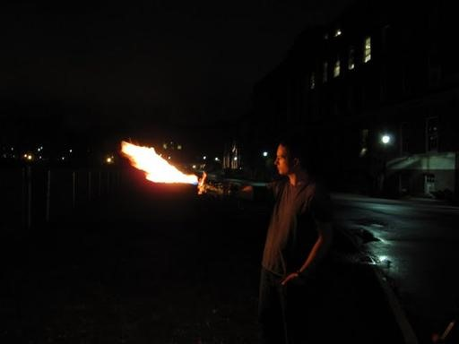 Pyromaniac X-Men Flamethrower