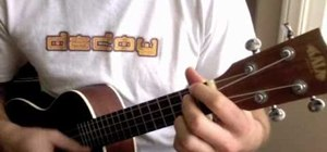 "Play ""Somewhere Over the Rainbow"" on ukelele"