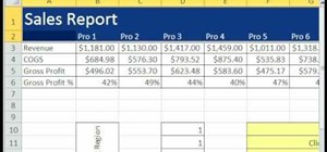 Select cells in a spreadsheet using hot keys in Excel