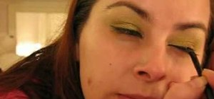 Create a fresh & sexy autumn fall eye makeup look